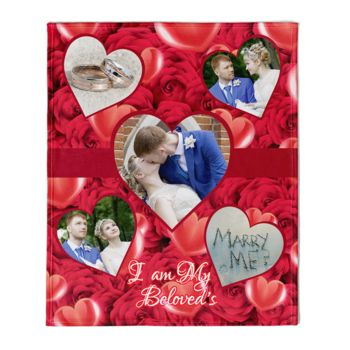 Valentines Day 5 Hearts Collage Thumbnail
